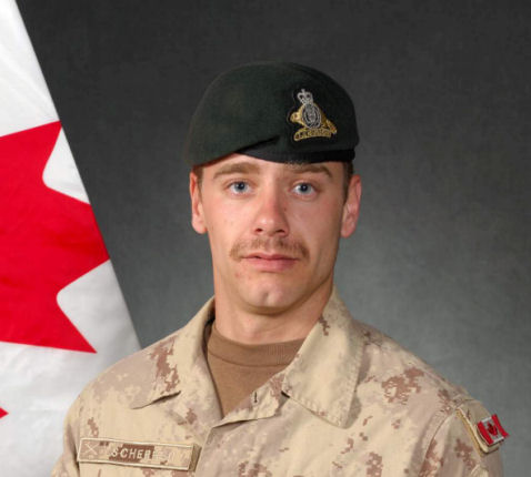Canadian Fallen Soldier - Corporal YANNICK SCHERRER