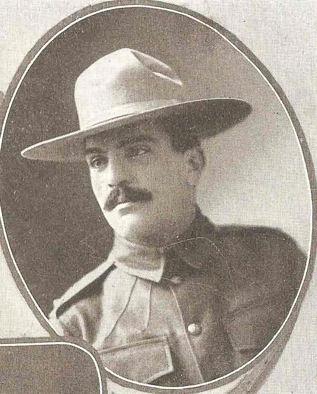 Canadian Fallen Soldier - Lieutenant HAROLD LITHROP BORDEN