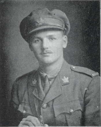 Canadian Fallen Soldier - Lieutenant LANCELOT EDGAR ASHCROFT