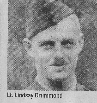 Canadian Fallen Soldier - Lieutenant LINDSAY DRUMMOND