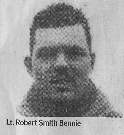 Canadian Fallen Soldier - Second Lieutenant ROBERT SMITH BENNIE