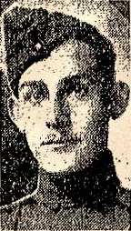 Canadian Fallen Soldier - Lieutenant LEONARD LAWRENCE MCFAUL