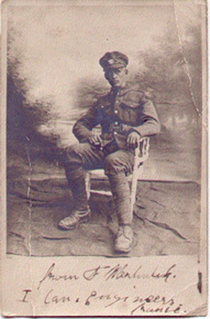 Canadian Fallen Soldier - Sapper FRANK MERHULIK