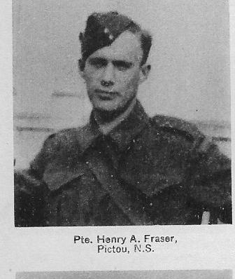 Canadian Fallen Soldier - Sapper HENRY ALFRED FRASER