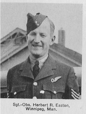 Canadian Fallen Soldier - Sergeant (Air Observer) HERBERT ROBINSON EASTON