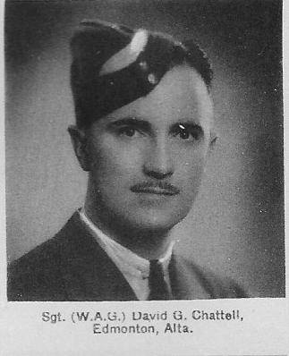 Canadian Fallen Soldier - Flight Sergeant DAVID GIFFORD CHATTELL