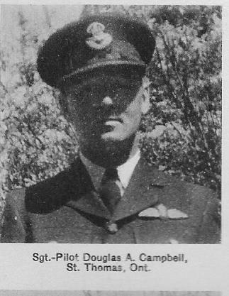 Canadian Fallen Soldier - Sergeant Pilot DOUGALD ALEXANDER CAMPBELL