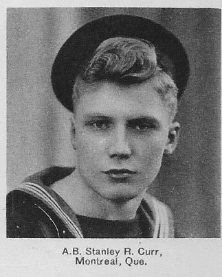 Canadian Fallen Soldier - Able Seaman STANLEY RAYMOND CURR