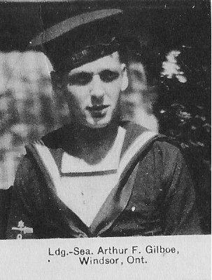 Canadian Fallen Soldier - Leading Seaman ARTHUR FRANCIS GILBOE