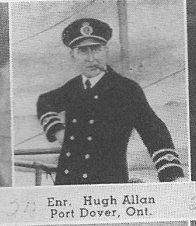 Canadian Fallen Soldier - Chief Engineer HUGH ALLAN