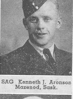 Canadian Fallen Soldier - Flight Sergeant KENNETH JOHANNES ARONSON