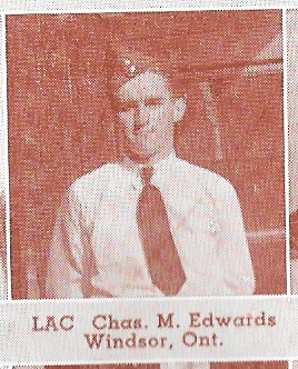 Canadian Fallen Soldier - Leading Aircraftman CHARLES MURRAY EDWARDS