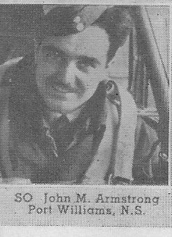 Canadian Fallen Soldier - Sergeant JOHN MARSHALL ARMSTRONG