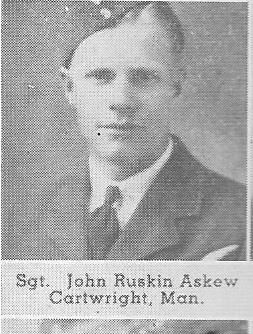 Canadian Fallen Soldier - Flight Sergeant JOHN RUSKIN ASKEW