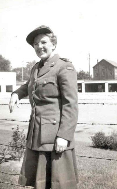 Canadian Fallen Soldier - Sergeant MONA ETHELYN MCBRIDE