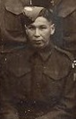 Canadian Fallen Soldier - Rifleman NAPOLEON MORIN