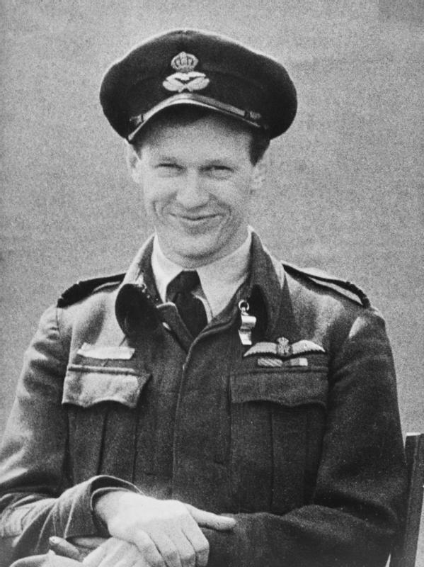 Canadian Fallen Soldier - Squadron Leader Pilot IAN WILLOUGHBY BAZALGETTE